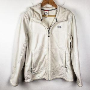 The North Face | White Fleece Full Zip Jacket Coat